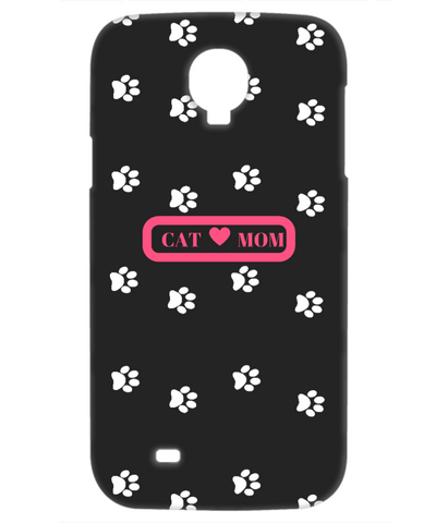 *Attention Cat Moms* Turn your Cell Phone Case into a Piece of Purrrfect Cat Mom Art - Cat Mom iPhone Samsung Galaxy Cellphone Cover, Phone Case, Gearbubble, FamilyTrophy.com - FamilyTrophy.com