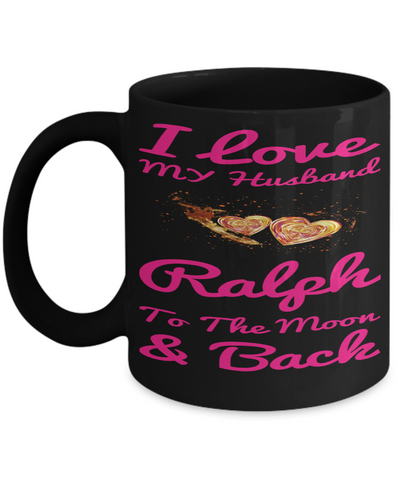 Personalization Gift Husband Mug Valentines Day 2017 2018 Couples Cup Moon Back, Coffee Mug, Gearbubble, FamilyTrophy.com - FamilyTrophy.com