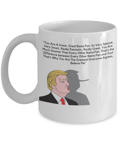 Great Bama Fanatics Donald Trump Holiday Mug 2018