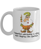 Harry Fan Holiday 2016 Mug - Fun Elf Saying & Quote Cup For Christmas Stocking Stuffer Gift - Drink Your Cocoa, Milk & Favorite Beverage Or Use As Pencil Holder, Coffee Mug, Gearbubble, FamilyTrophy.com - FamilyTrophy.com