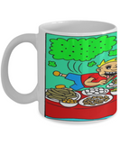 Inexpensive Christmas 2016 Fart Mug - XMas Humor For Boys & Girls - Stocking Stuffers Farty Humor - Funny 11oz Ceramic Cup For Cocoa, Milk & Candy Cane, Coffee Mug, Gearbubble, FamilyTrophy.com - FamilyTrophy.com