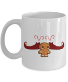 gingerbread elf christmas mug - holidays 2016 cup for cocoa!, Coffee Mug, Gearbubble, FamilyTrophy.com - FamilyTrophy.com