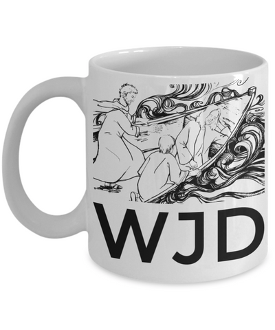 Jesus God Catholic Religious Coffee Mug Inspirational Tea Cup for Christians Gifts For Easter Holiday Best Bible Verse Gift Ideas For Him Her Coloring Mugs No Color Pens Included WJD Jesus Jar, Coffee Mug, Gearbubble, FamilyTrophy.com - FamilyTrophy.com