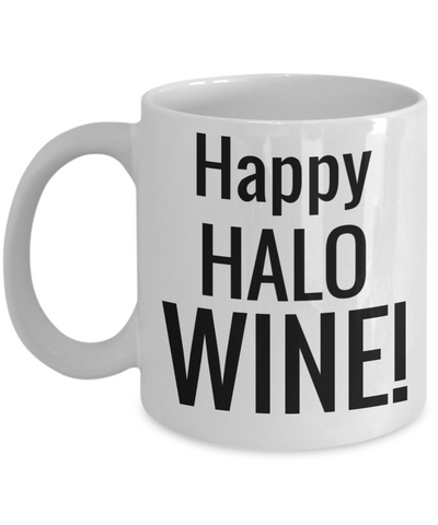Halloween Coffee Wine Mug White Ceramic Coffee Mug Halloween 2017 For Adults Fun Holiday Gift Jar For Cookies Chocolate & Pen Holder, Coffee Mug, Gearbubble, FamilyTrophy.com - FamilyTrophy.com