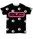 *Attention Cat Moms* Turn your T-Shirt into a Piece of Purrrfect Cat Mom Art!, All-Over Print, Gearbubble, FamilyTrophy.com - FamilyTrophy.com