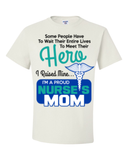 Hero Nurse Mom, Pillow Case, Trexify, FamilyTrophy.com - FamilyTrophy.com