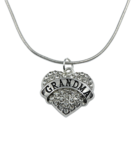 Proud Grandma Necklace, Jewelry, Trexify, FamilyTrophy.com - FamilyTrophy.com