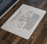 Premium Custom Designed Doormat Cats The Best Drug - Housewarming Gift For Cat Lovers + Surprise Bonus - FamilyTrophy.com