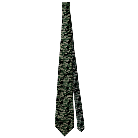 Cat Camouflage, Sublimation Neckties, slingly, FamilyTrophy.com - FamilyTrophy.com