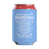 Limited Edition - The 12 Days of Nursemas, Can Wraps, slingly, FamilyTrophy.com - FamilyTrophy.com