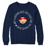 Limited Edition - Ain't A Woman Alive That Could Take My Mama's Place ( version 1), Crewneck Fleece, slingly, FamilyTrophy.com - FamilyTrophy.com