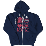 Limited Edition - All Women Are Created Equal But The Finest Become A Mom, Zipper Hoodie, slingly, FamilyTrophy.com - FamilyTrophy.com