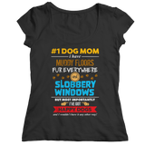 Limited Edition - # 1 Dog Mom, Unisex Shirt, slingly, FamilyTrophy.com - FamilyTrophy.com