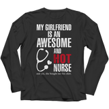 My Girlfriend Nurse, Unisex Shirt, slingly, FamilyTrophy.com - FamilyTrophy.com