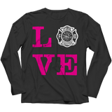 Limited Edition -Firefighter Wife Love, Unisex Shirt, slingly, FamilyTrophy.com - FamilyTrophy.com