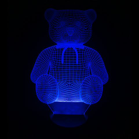 Teddy Bear, LED Lamps, slingly, FamilyTrophy.com - FamilyTrophy.com