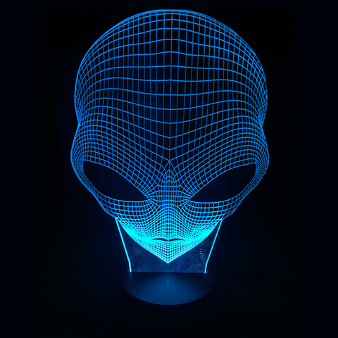 Alien, LED Lamps, slingly, FamilyTrophy.com - FamilyTrophy.com