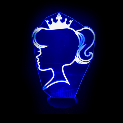 Princess, LED Lamps, slingly, FamilyTrophy.com - FamilyTrophy.com