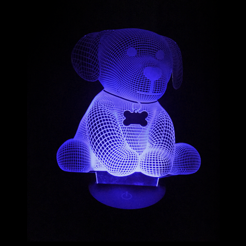 Personalized Dog, LED Lamps, slingly, FamilyTrophy.com - FamilyTrophy.com
