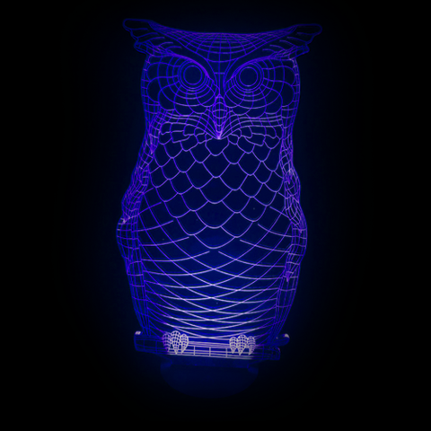 Owl, LED Lamps, slingly, FamilyTrophy.com - FamilyTrophy.com
