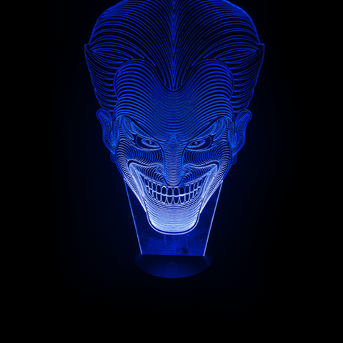 Joker, LED Lamps, slingly, FamilyTrophy.com - FamilyTrophy.com