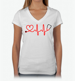 I Love Nursing, Apparel, Trexify, FamilyTrophy.com - FamilyTrophy.com
