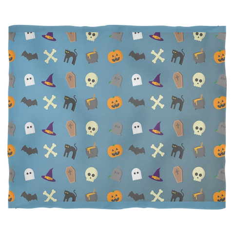 Fleece Blanket Halloween, Blankets, teelaunch, FamilyTrophy.com - FamilyTrophy.com