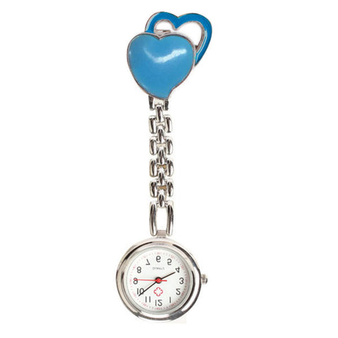 New Chest Pocket Watch Doctor Nurse Watch Warm Sweet Heart Quartz Fob Brooch Pocket Watch with Clip Gift LL, Pocket & Fob Watches, Shop2882035 Store, FamilyTrophy.com - FamilyTrophy.com