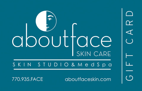 About Face Skin Care Gift Card