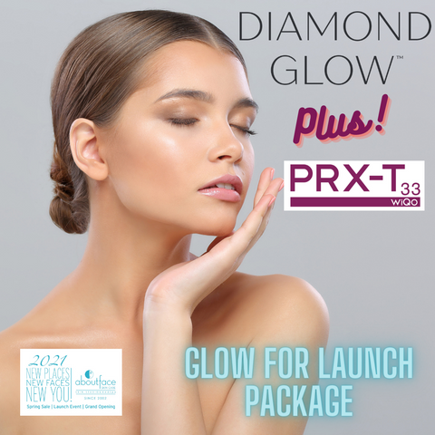 """GLOW FOR LAUNCH"" Special - Peel & Diamond Glow Series (NEW!)"