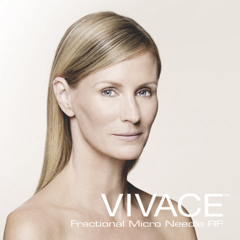 The NEW Vivace Fractional Needle RF (SERIES OF 3 Face/Neck/Décolletage Treatment)