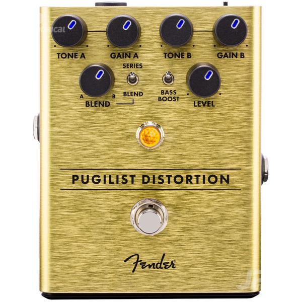 PEDAL DE EFECTOS FENDER 0234534000 PUGILIST DISTORTION PEDAL - JP Musical