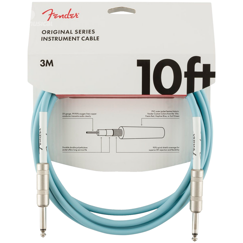 CABLE FENDER 0990510003 ORIGINAL 10 INST CABLE DNB - JP Musical