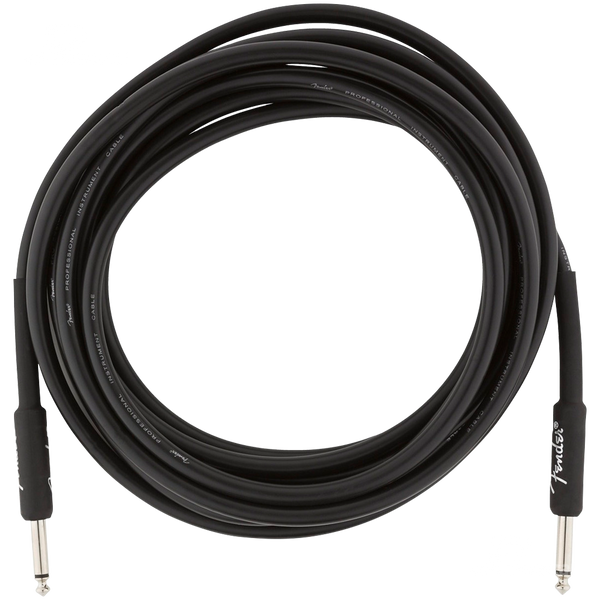 CABLE FENDER 0990820021 PRO 15 INST CABLE BLK - JP Musical