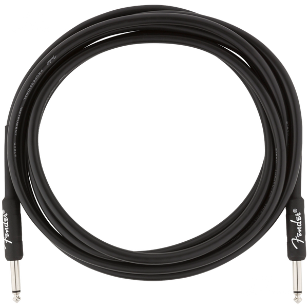 CABLE FENDER 0990820024 PRO 10 INST CABLE BLK - JP Musical