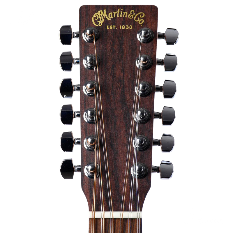 GUITARRA ELECTROACUSTICA MARTIN&CO 11DX2E12STRING LOW PROFILE SITKA SPRUCE C/SOFT GIGBAG - JP Musical