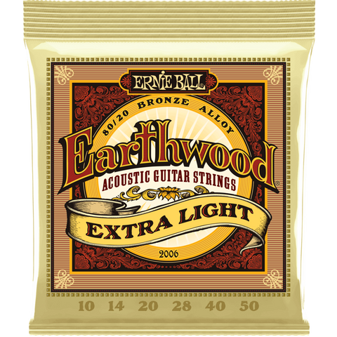 ENCORDADURA ERNIE BALL 2006 EARTHWOOD - JP Musical