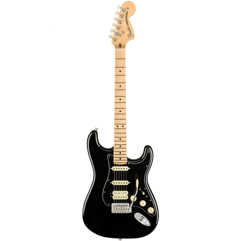 GUITARRA ELECTRICA FENDER 0114922306 AM PERF STRAT HSS MN BLACK - JP Musical