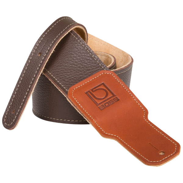 TAHALI BOSS BSL30BRN 3 BR PREM LEATHER GTR STRAP