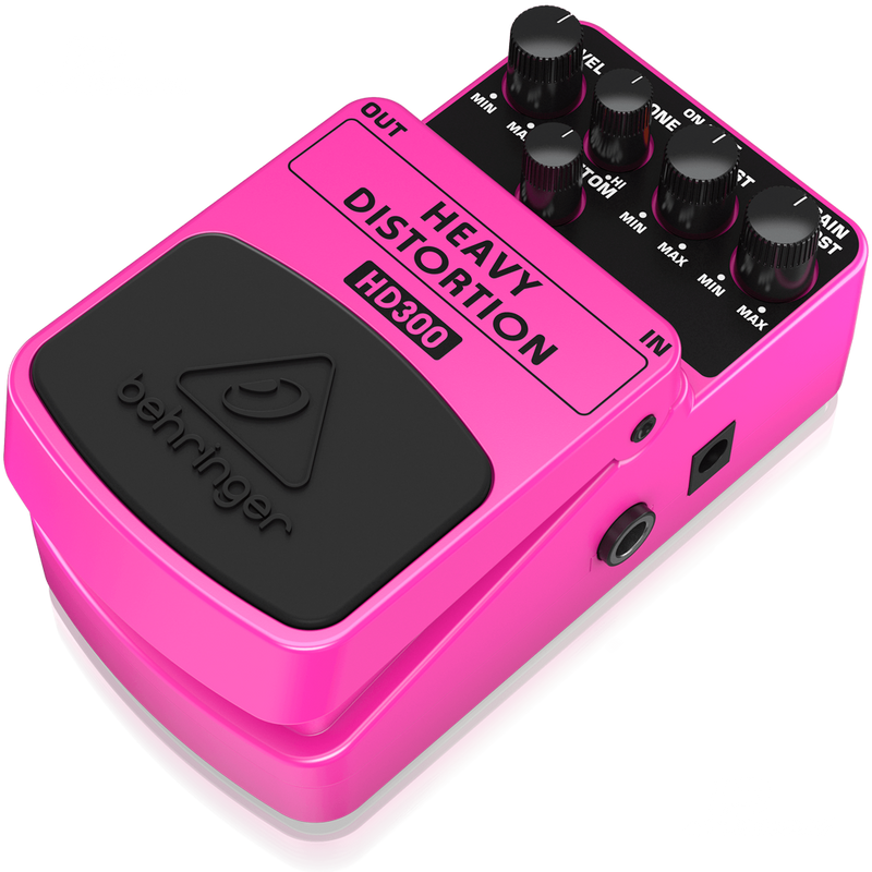 PEDAL BEHRINGER HD300 HEAVY DISTORTION - JP Musical