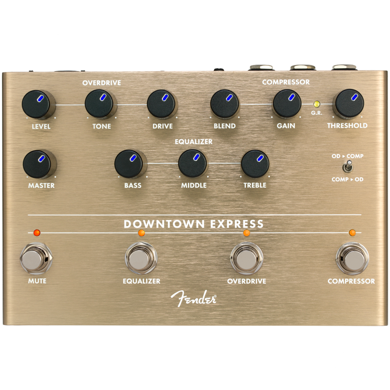 PEDAL DE EFECTOS FENDER 0234538000 DOWNTOWN EXPRESS BASS MULTI-EFFECT - JP Musical