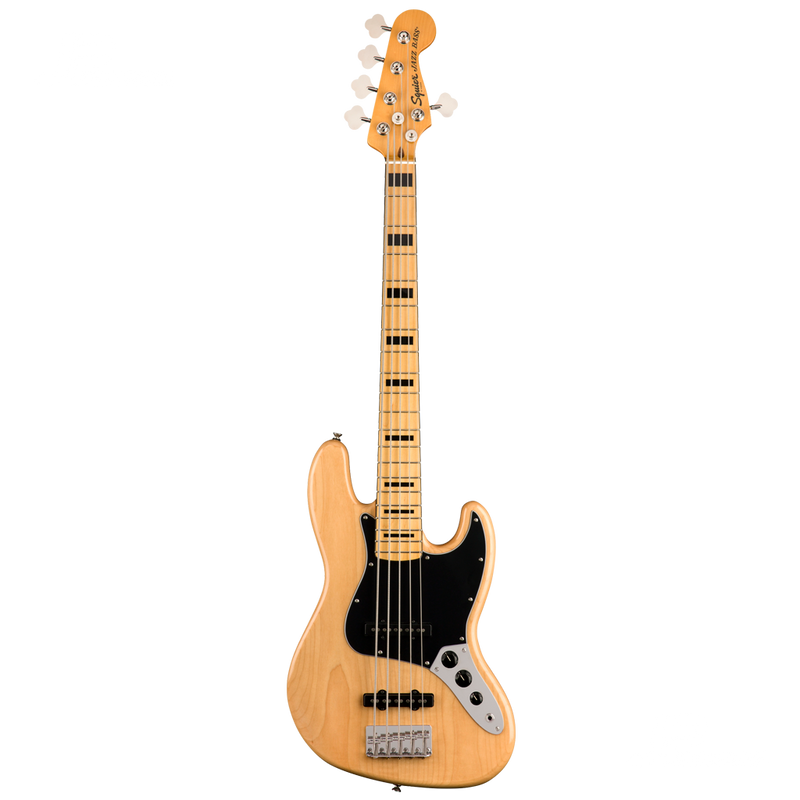 BAJO ELECTRICO SQUIER 0374550521 SQ CV 70S JAZZ BASS V MN NAT - JP Musical