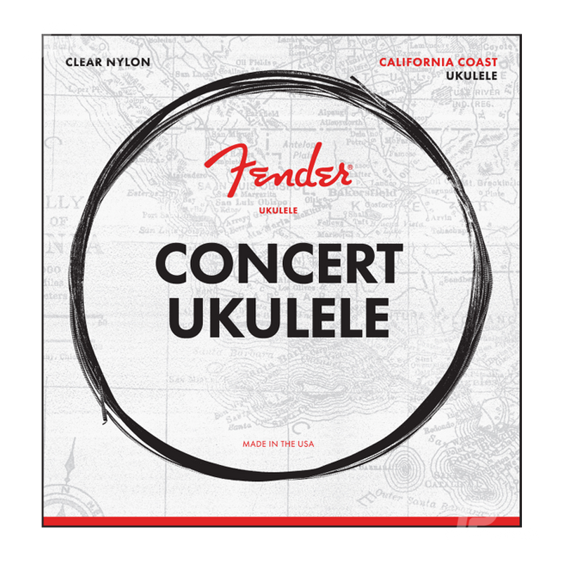 ENCORDADURA FENDER 0730090403 CONCERT UKULELE STRINGS - JP Musical