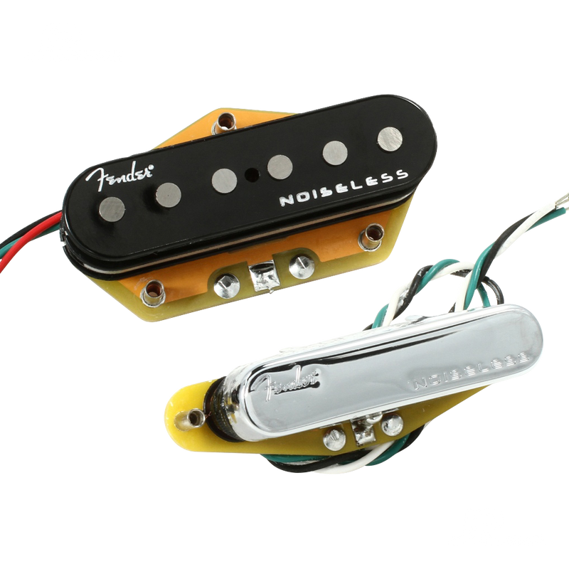 PASTILLAS FENDER 0992261000 GEN 4 NOISELESS TELE PICKUPS - JP Musical