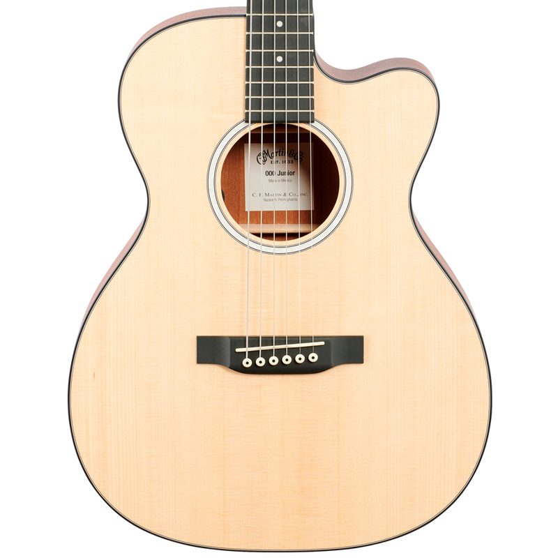 GUITARRA ELECTROACUSTICA MARTIN&CO 11000CJR10E DREADNOUGHT JUNIOR SITKA SPRUCE C/SOFT GIGBAG - JP Musical