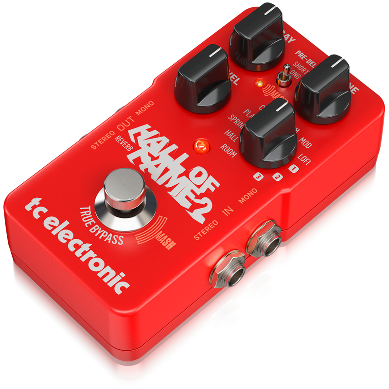PEDAL DE EFECTOS TC ELECTRONICS HALL OF FAME 2 REV - JP Musical