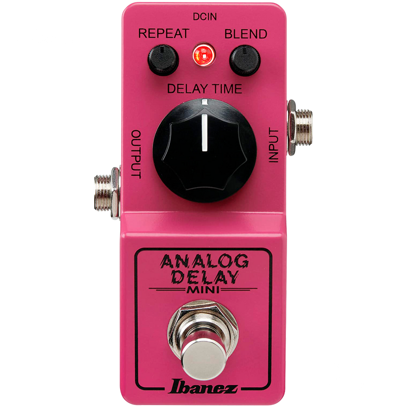 PEDAL DE EFECTO IBAÑEZ ANALOG DELAY MINI - JP Musical