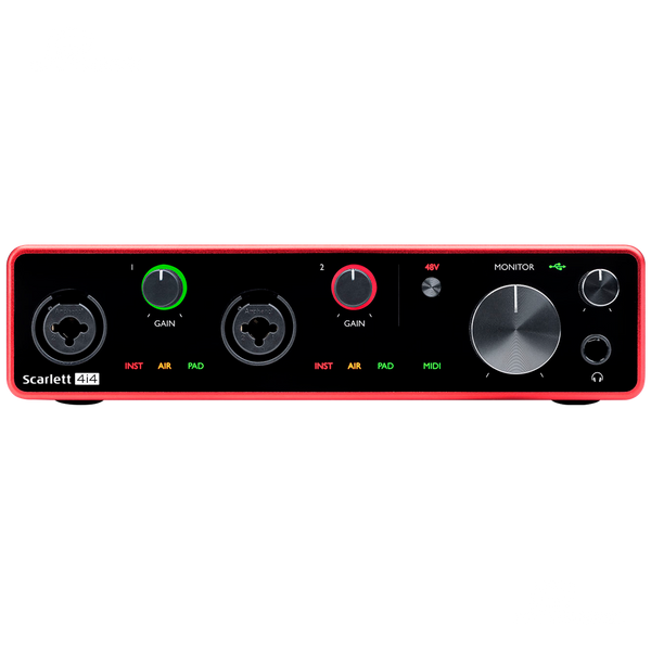 INTERFASE FOCUSRITE SCARLETT 4I4 - JP Musical