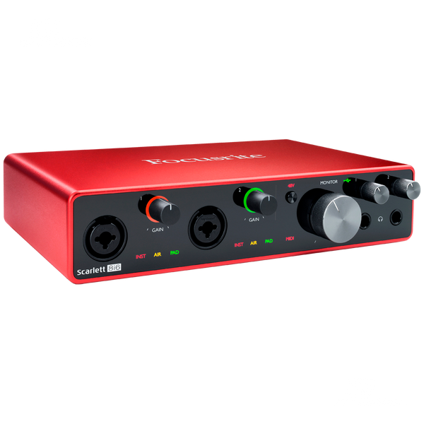 INTERFASE FOCUSRITE SCARLET 8I6 - JP Musical