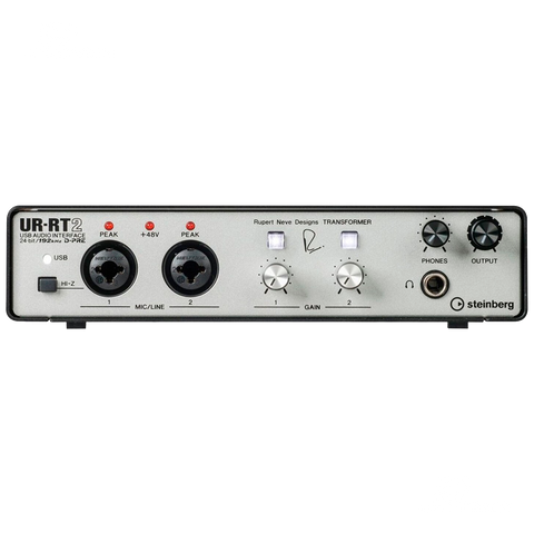 INTERFASE STEINBERG URRT2 USB 2X2 I/O RUBERT - JP Musical